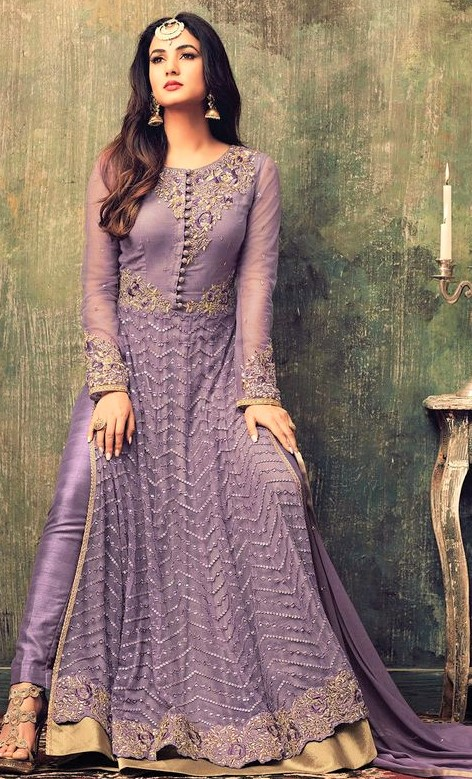 best Anarkali Party Wear Suits Pakistani