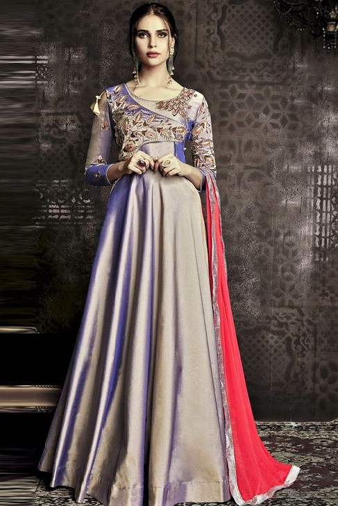 Pakistani latest Party Frock Design 2019