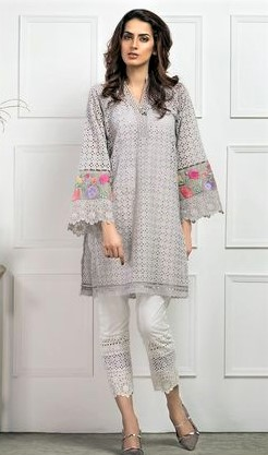 new Chikan Kurti Designs for summers