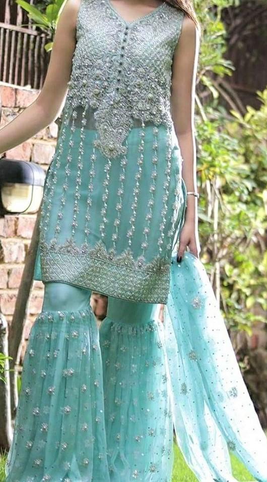 best Bell Bottom Trouser Pakistani designs