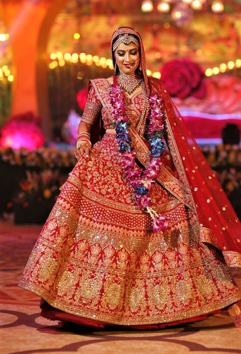 Bridal Lehnga for Barat