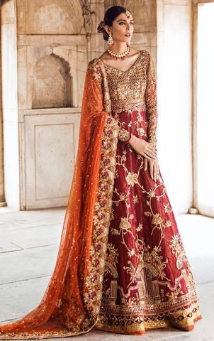 Casual Latest Bridal Walima Dresses Pakistani