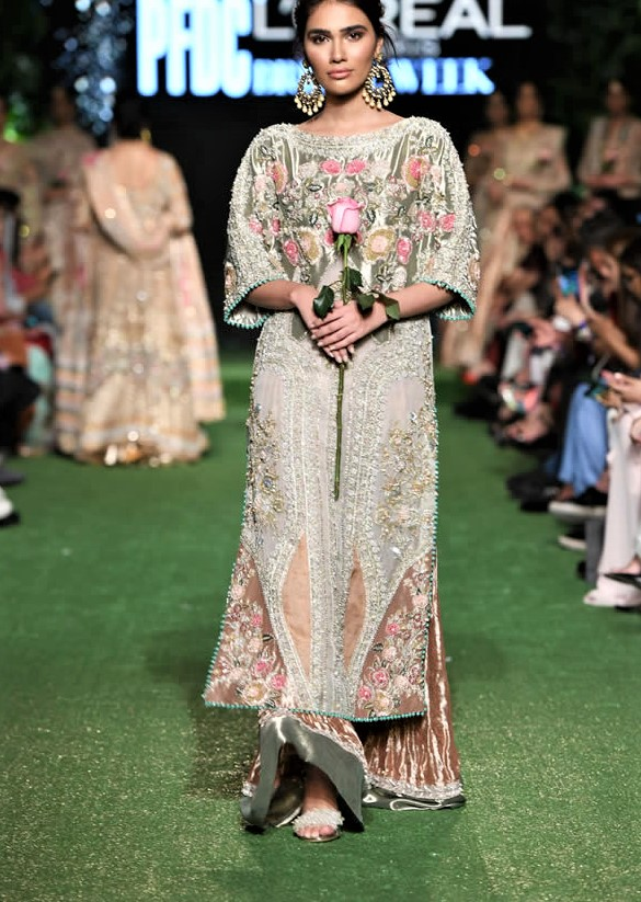 Saira Shakira Bridal Collection LOreal Paris Bridal Week 2019