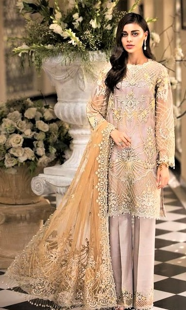 Formal Shirt Design for Girl 2019 Pakistani