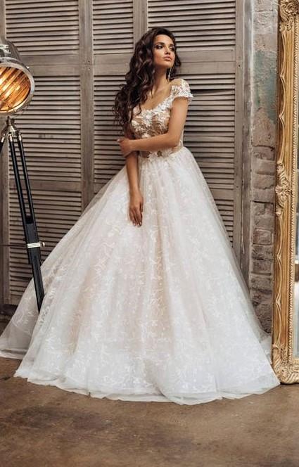 Halter Ball Gown Style Pakistani designs