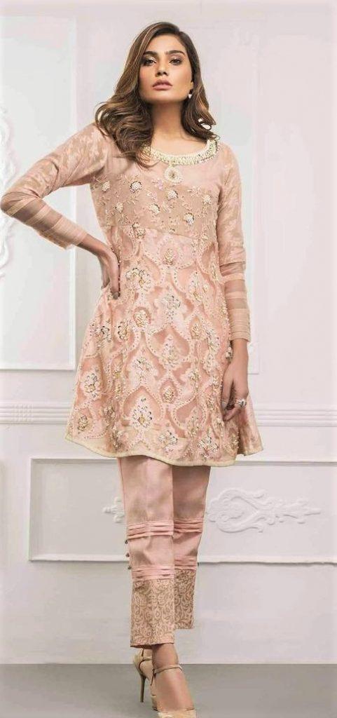 Long Sleeve Peplum Dress Shirt for women