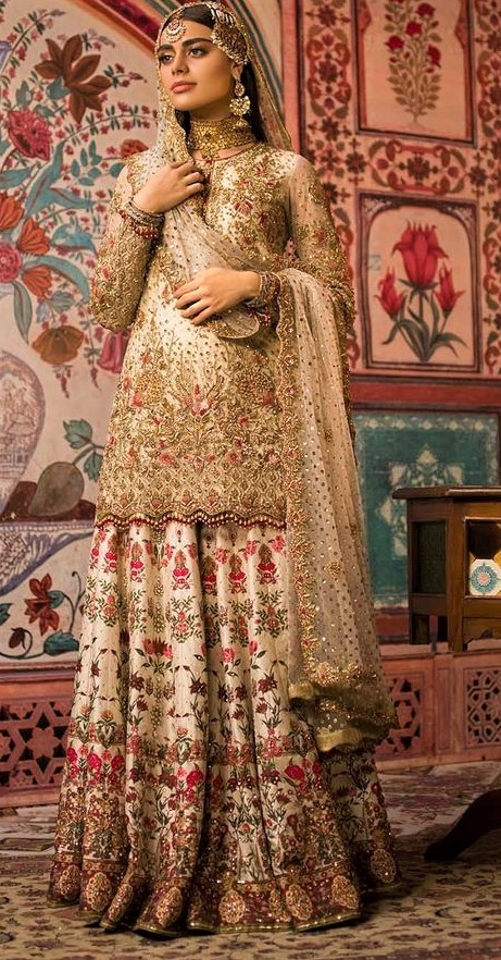 latest Bridal Maxi for Walima 2019