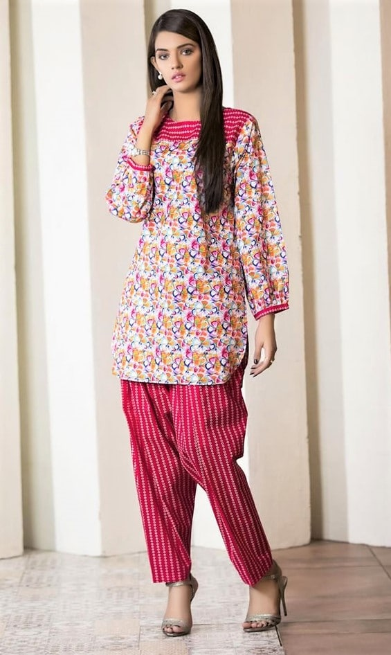 Universal Cambric Sitara Studio Lawn kurti styles