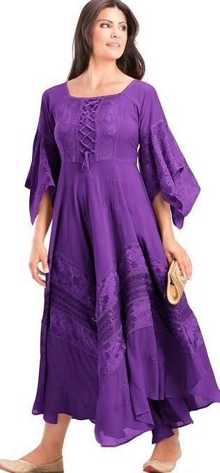 Suit Stitching Style Pakistani Smock Dress