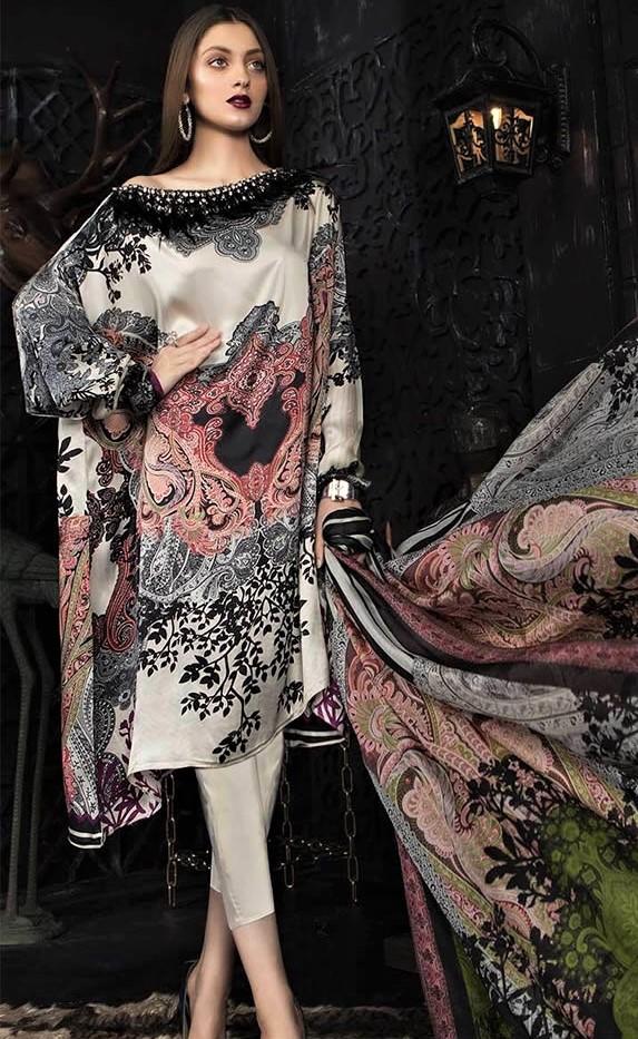 maria b girl dresses digital prints