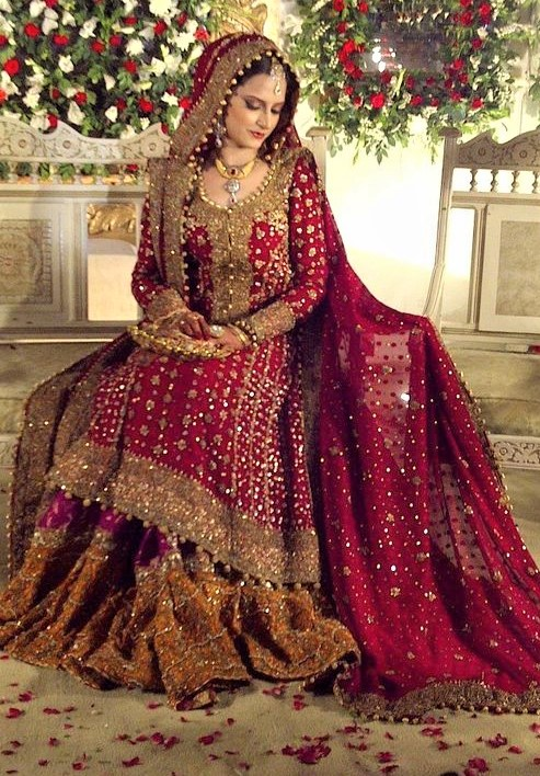 Bridal Walima Maxi Dresses Pakistani collection