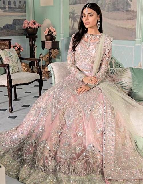 Halter Ball Gown stitching designs Pakistani