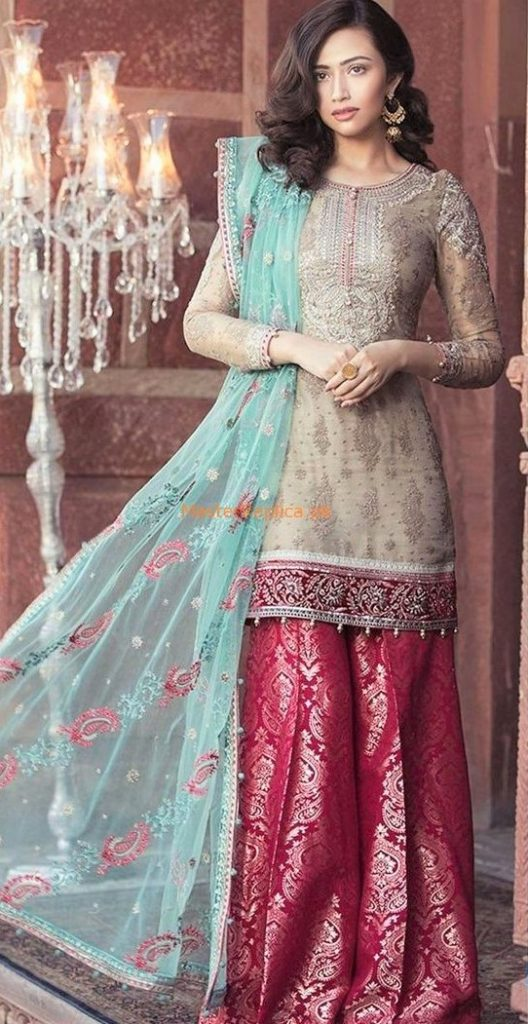 Best Suit Stitching Style Pakistani smock dress 2019