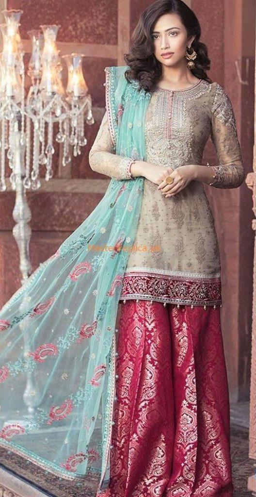 Best Suit Stitching Style Pakistani smock dress 2019