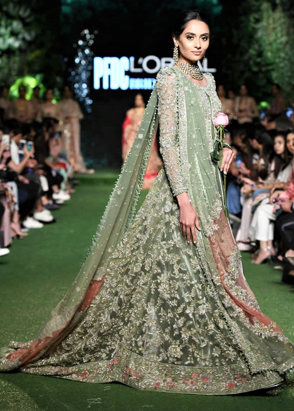 Latest Saira Shakira Bridal Collection 2019 on PDFC