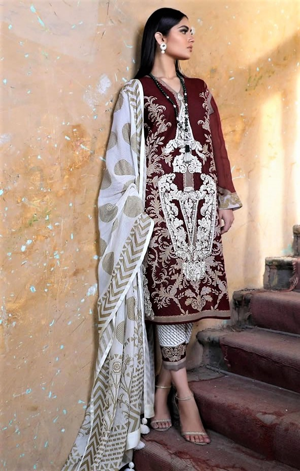 Sana Safinaz Lawn winter designs