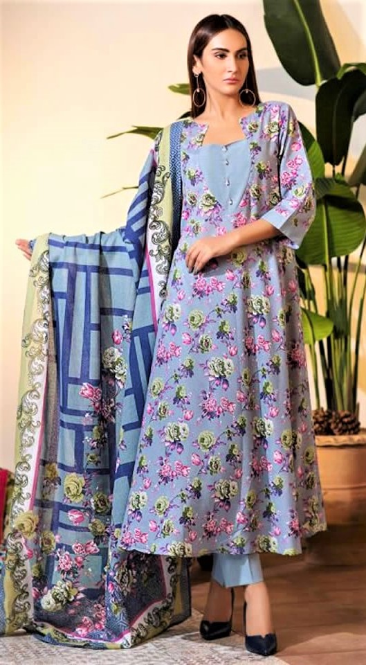 Sitara Lawn Collection Pakistani for winter