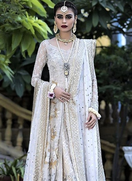 Pakistani Bridal Barat shower dresses