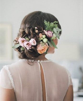 Best Wedding Hairstyles with Flowers
