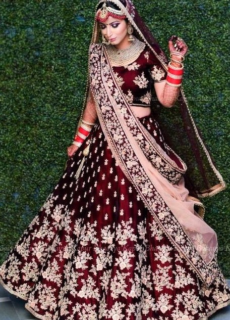 Pakistani Red Bridal Barat Dresses 2019
