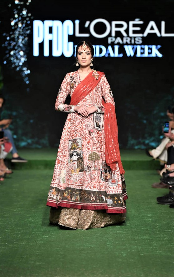 Nida Azwer Bridal Collection 2019 for wedding