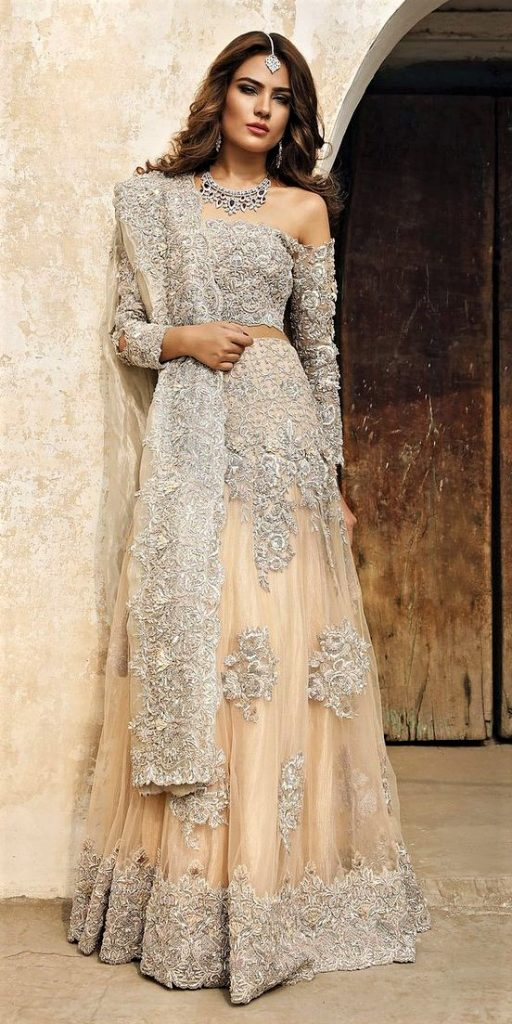 Best Pakistani Pink Bridal Dresses for Barat Function