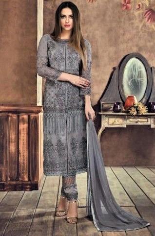 Pencil Suit Stitching Style Pakistani Dresses Designs