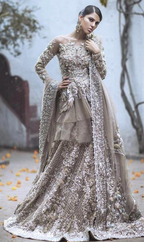 Pakistani Bridal Barat Dresses Designs 2019