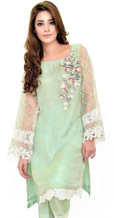 Maxi Chiffon Dresses Pakistani 2019