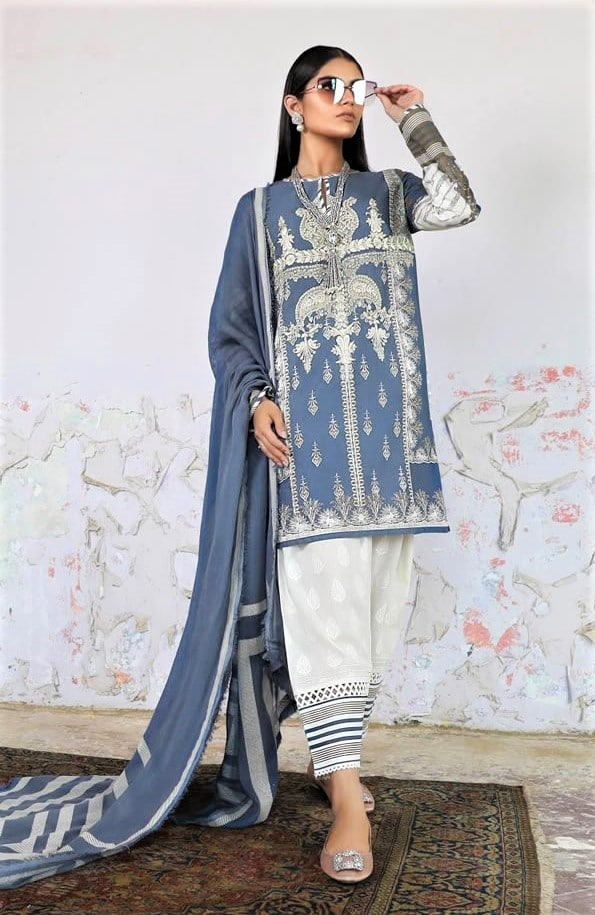 Best Sana Safinaz Lawn Designs 2019