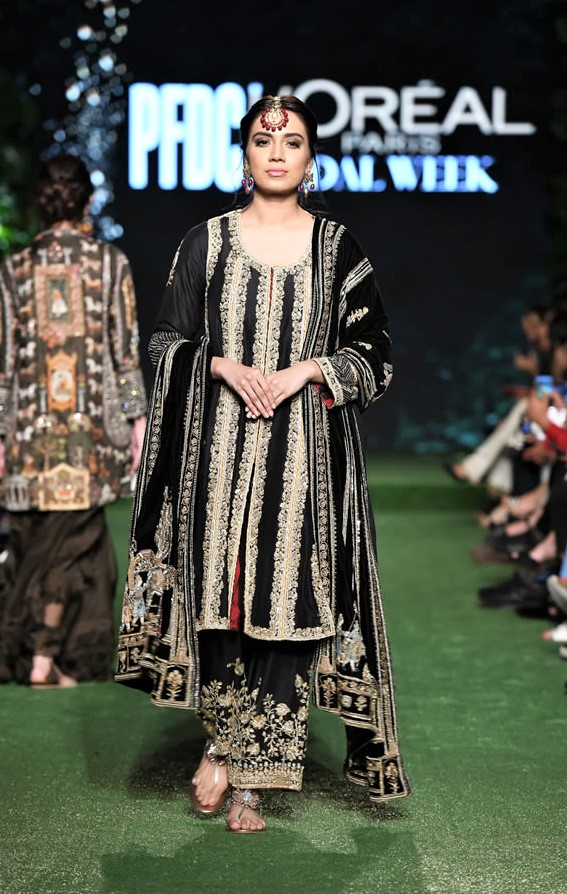 Pakistani Designer Nida Azwer luxury pret
