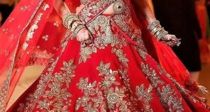 Brides Lehnga design for Barat