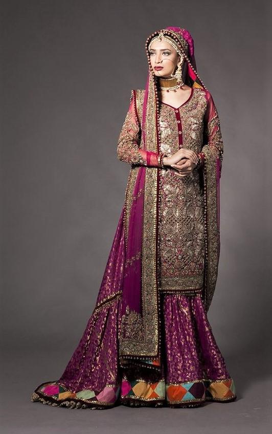 Maxi Bridal Walima Dresses Pakistani 2019