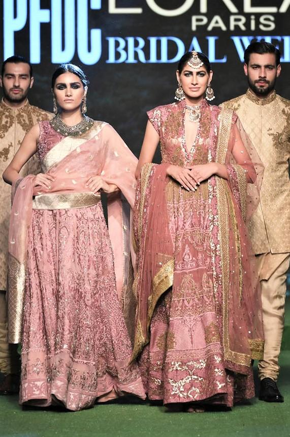 pakistani wedding dresses hsy