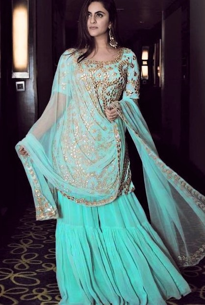 Latest white Skirt Design 2019 Pakistani