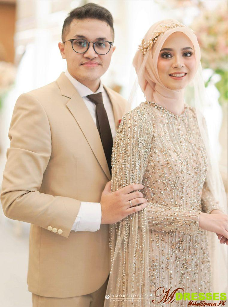 Muslim Pakistani Nikah Dresses for Brides 2019