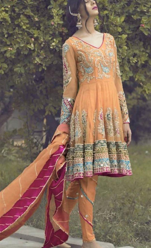 Beautiful Dresses in Pakistan for wedding
