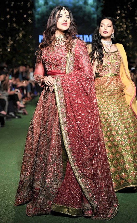 Fahad Hussayn Couture Bridal Dresses at PDFC 2019
