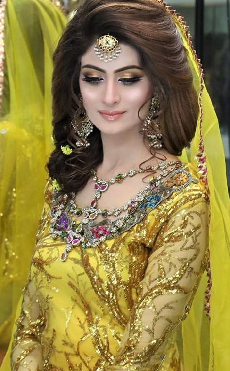 latest Kashee Mehndi Makeup for brides
