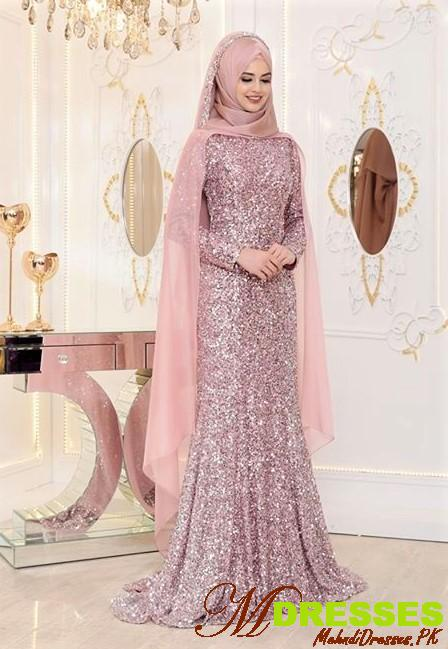Muslim bridal dresses for nikah
