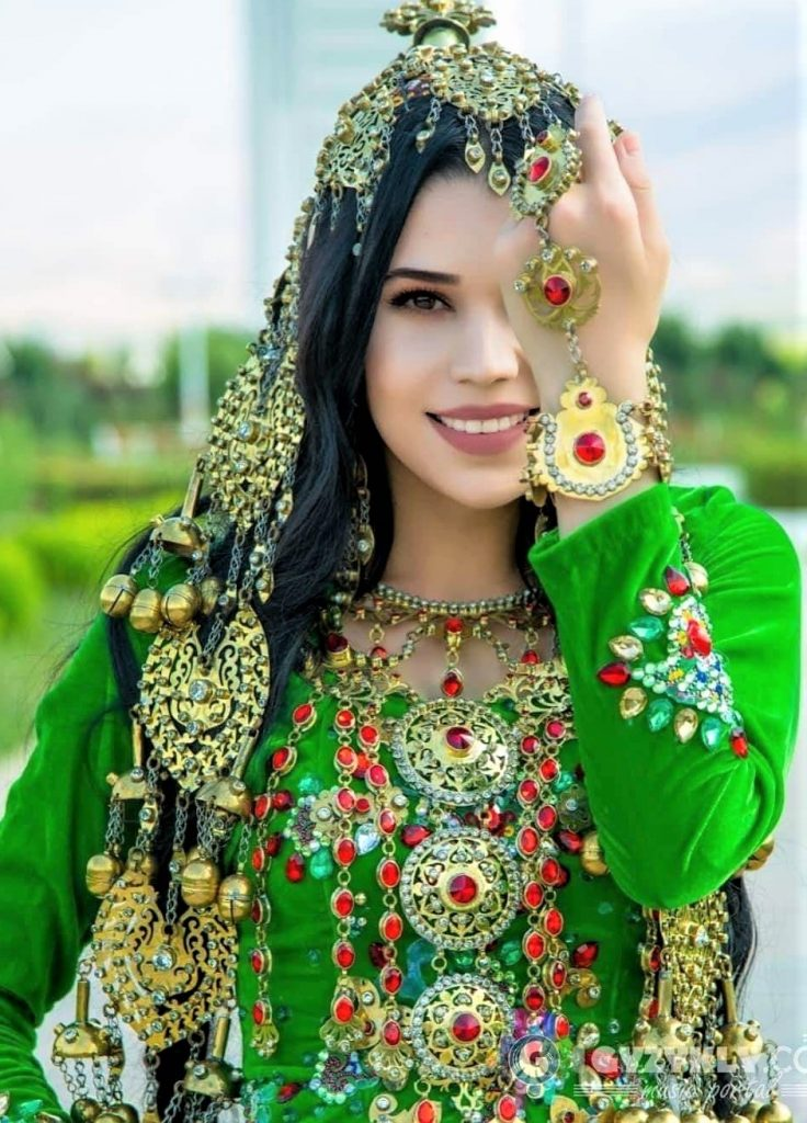 Traditional Fancy Kashmiri Dress Embroidery
