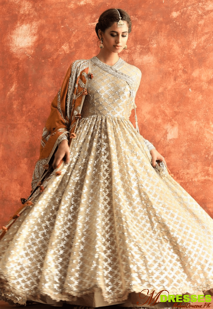 nikah dress sharara for brides