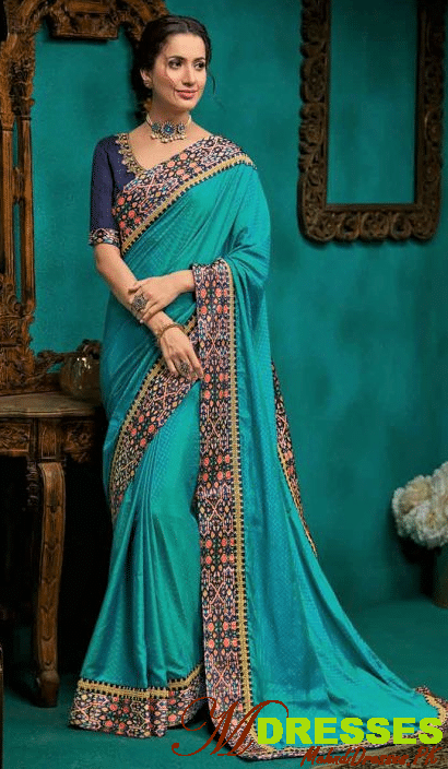 SilkBest Saree Embroidery Designs for brides