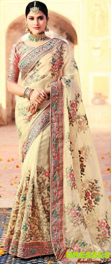 silk saree for bridal