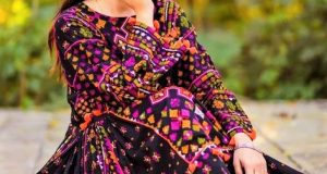 Balochi Pakistani Traditional Dresses for Girls