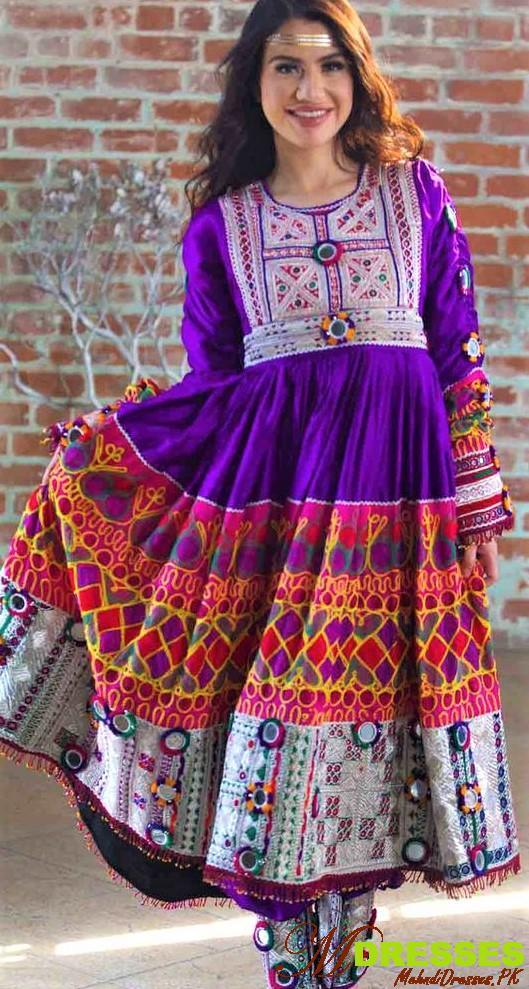 Balochi frock styles