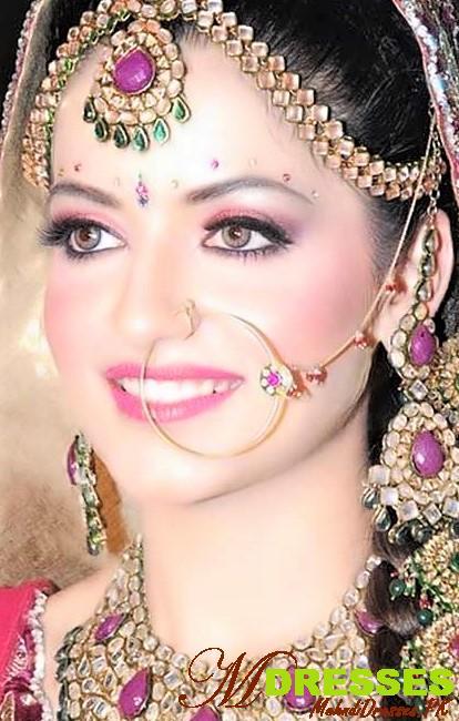 Heavy Arabic eyes makeup