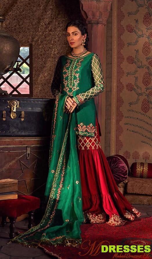 faiza saqlain dress designer 2019