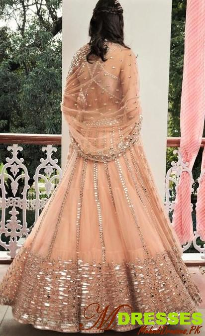 Mirror Work lehnga In Pakistan