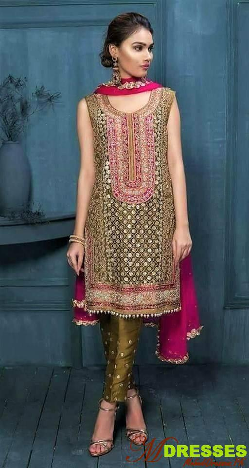 geen  golden pakistani boutique collection